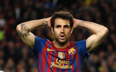 Pique Admits Fabregas Passed On Arsenal Team Sheets