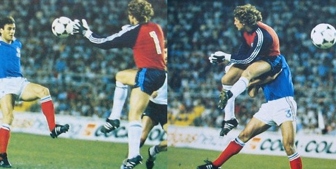 Harold Schumacher 1982 World Cup Patrick Battiston